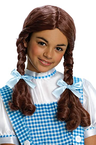 Amazon.com: Wizard of Oz Dorothy Wig, Child size: Toys & Games