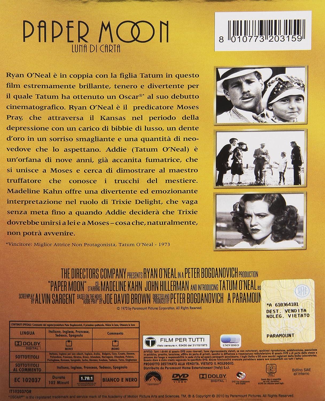 Paper moon - Luna di carta [Italia] [DVD]: Amazon.es: John ...