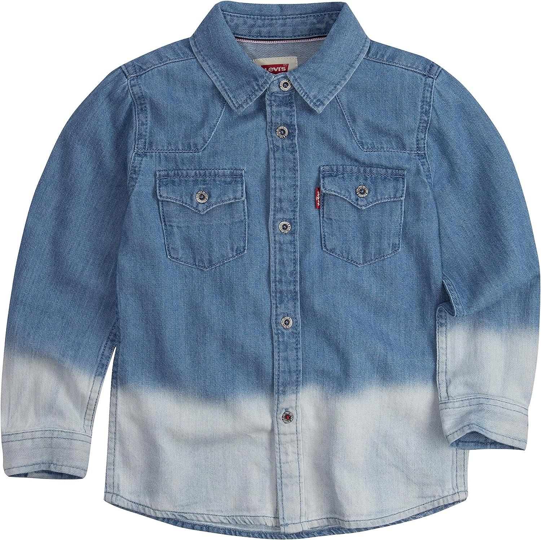 Levis Barstow Western Denim Shirt Camisa para Niños: Amazon.es: Ropa y accesorios
