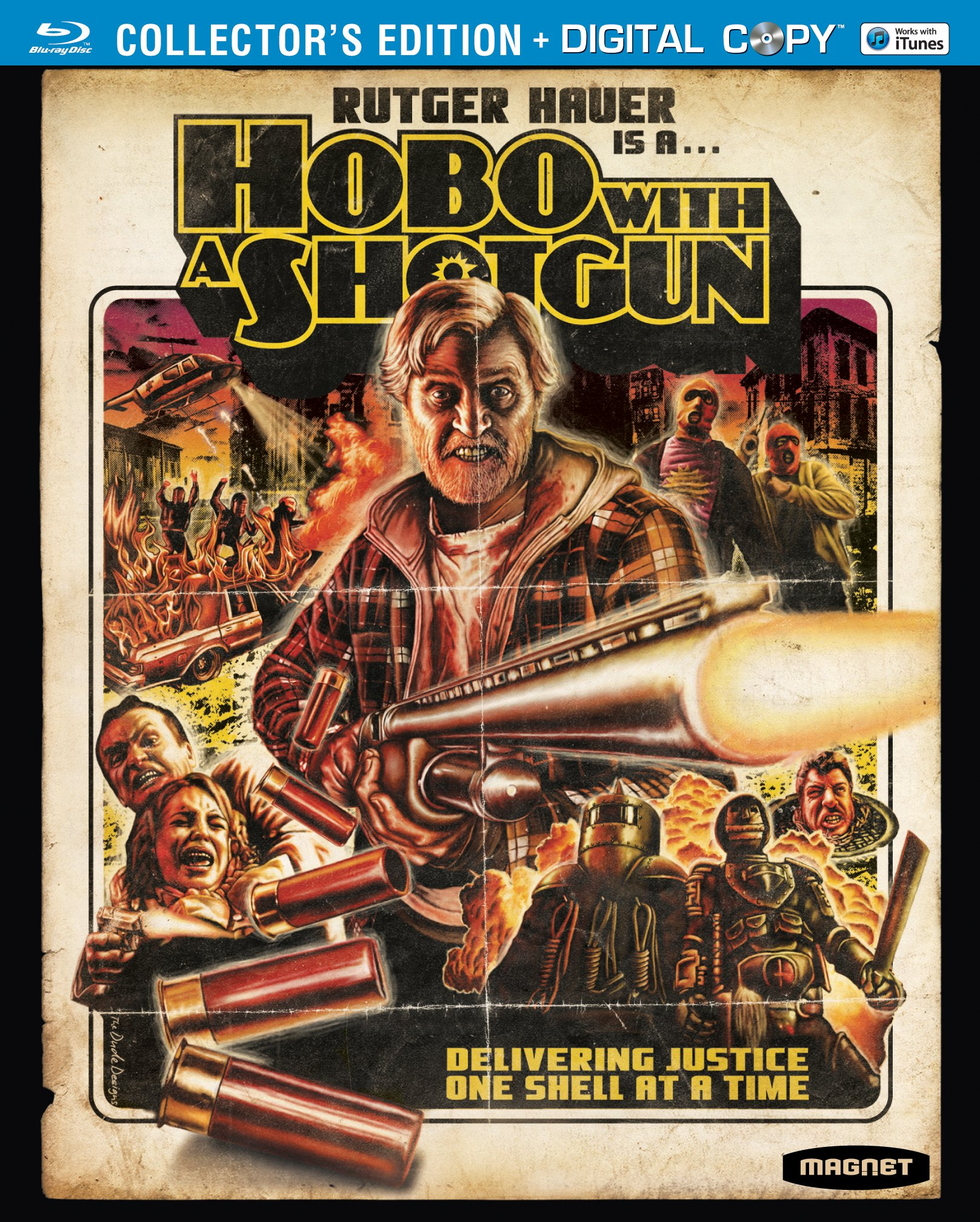 Blu-ray : Hobo with a Shotgun (Widescreen, , AC-3, Digital Copy)