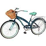 Benotto Bicicleta Sta. Monica Acero R24 1V Dama Frenos contra Pedal