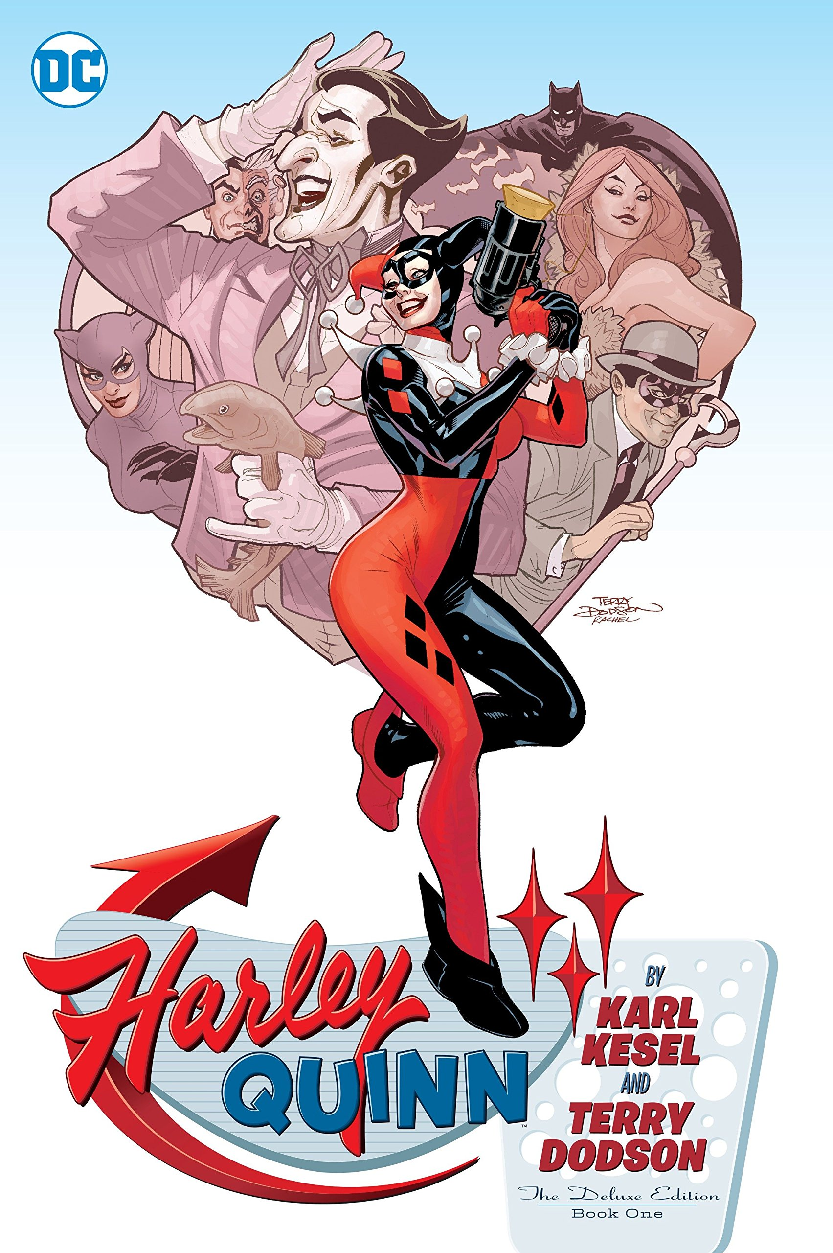 c3f31073d320 Harley Quinn By Karl Kesel And Terry Dodson  The Deluxe Edition Book One  Hardcover – September 12