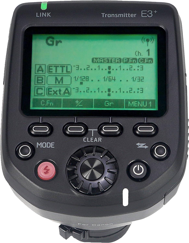 B07BDHV2T6 AODELAN E3+ Flash Trigger 1D X Mark II / 1D X / 1Ds Mark III / 1Ds Mark II / 1Ds / 1D Mark IV / 1D Mark III / 1D Mark II N,for Canon 600EX-RT, 600EX II-RT, 430EXIII-RT, Replaces Canon ST-E3-RT 91CcD81lpPL.SL1500_