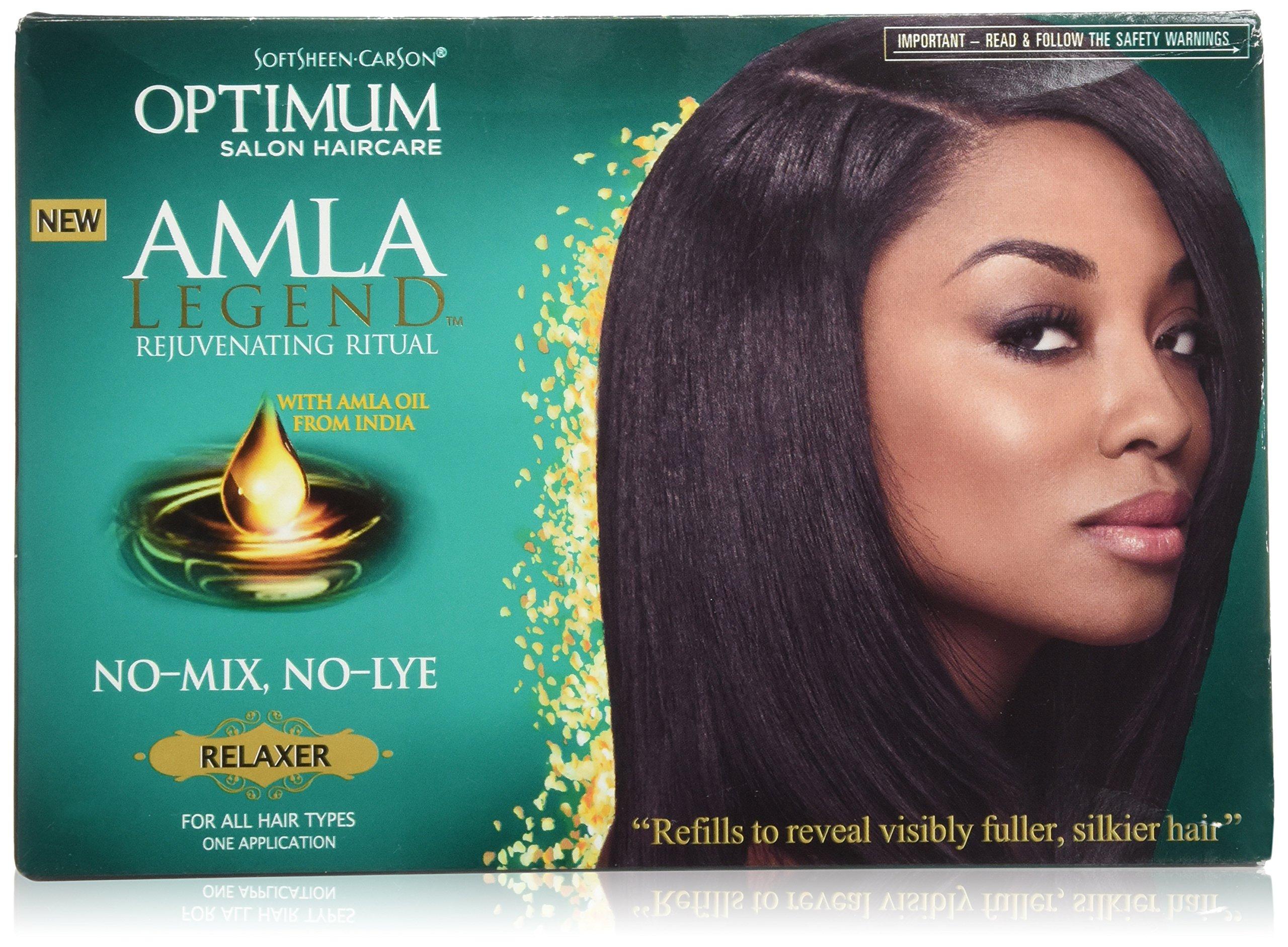 Softsheen Carson Optimum Amla Legend Relaxer Kit (Pack of 6)