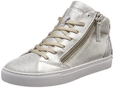 25331ks1, Baskets Hautes Femme, Or (Platin), 41 EUCrime London