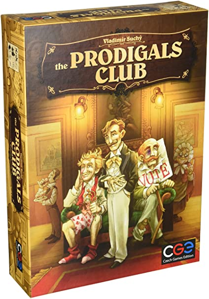 Czech Games Prodigals Club Board Game Spiele