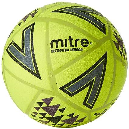 Mitre Ultimatch Indoor Balón de fútbol, Unisex Adulto: Amazon.es ...