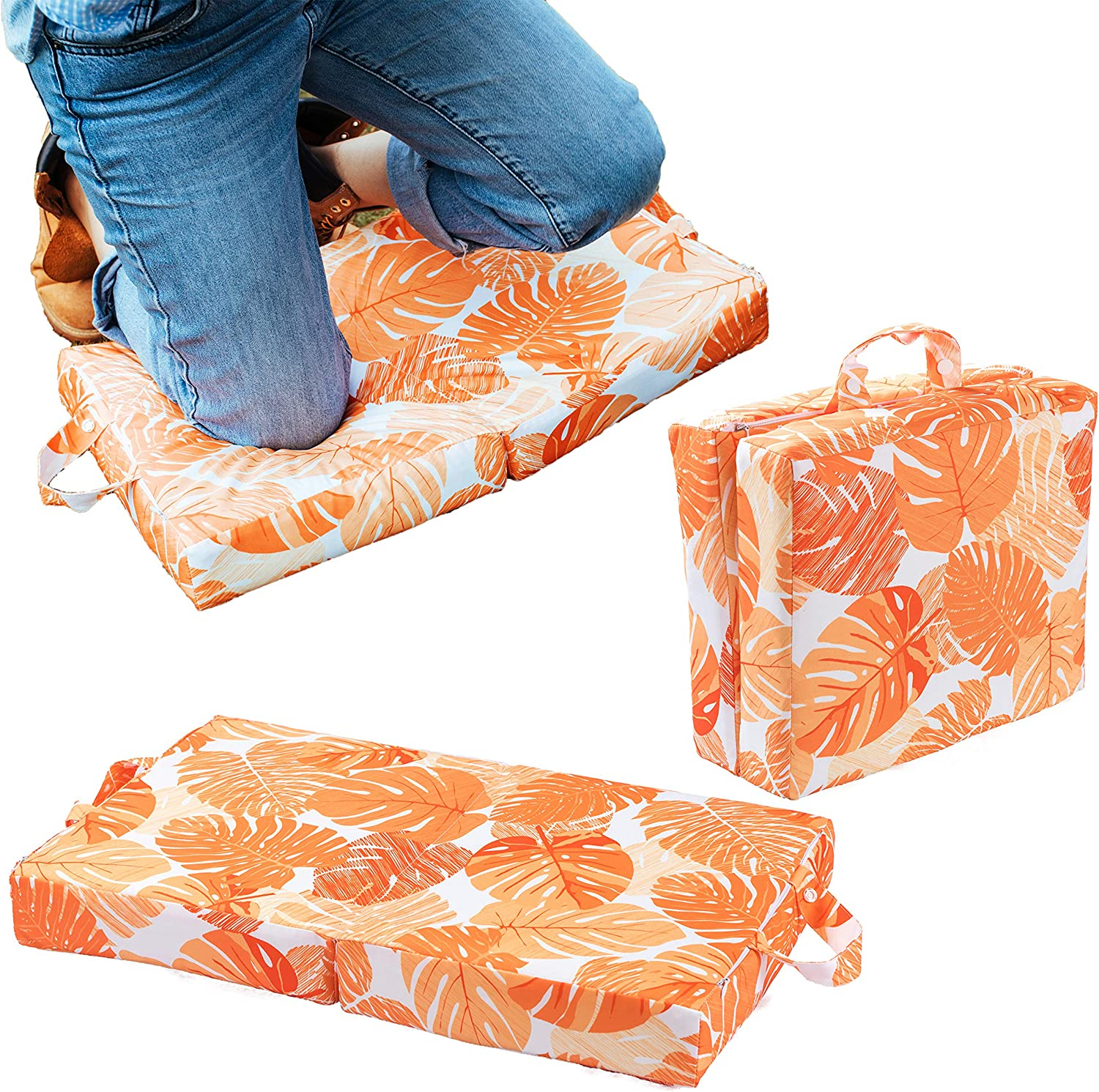 Etc Blue Raise Your Game Kneeling Pad Knee Protector Cushion Pillow for Garden Work Exercise Household and Outdoor Chores Large Thick Kneeler Foam Support for Gardening
