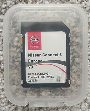 Genuine 2018 Nissan Connect 3 V3 navigation SD card Europe