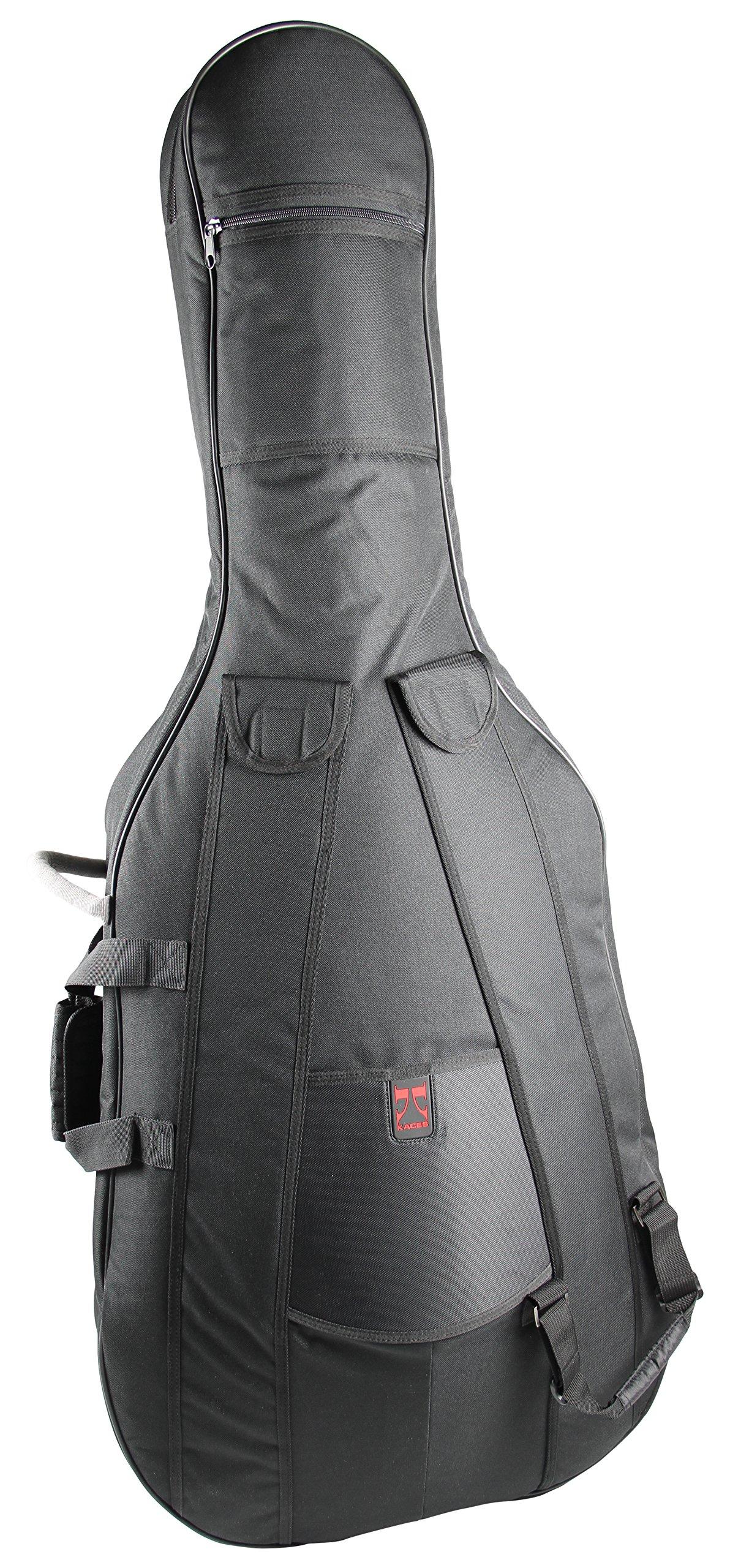 Kaces KCB4/4 4/4 Size Symphony Grade Cello Bag