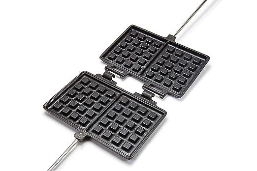 Waffeleisen Für Gasgrill : Petromax waffeleisen schwarz one size amazon sport freizeit