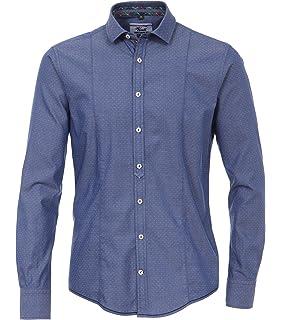 c8a1aa9d34f9 Venti - Slim Fit - Bügelleicht Herren Hemd mit Kent-Kragen in Blau  (162539900