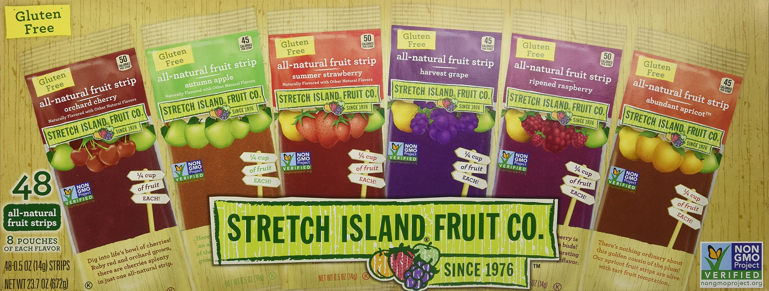 Stretch Island Fruit Leather Variety Pack 48-Count (Pack of 2, 96 total) by Stretch Island (Image #4)