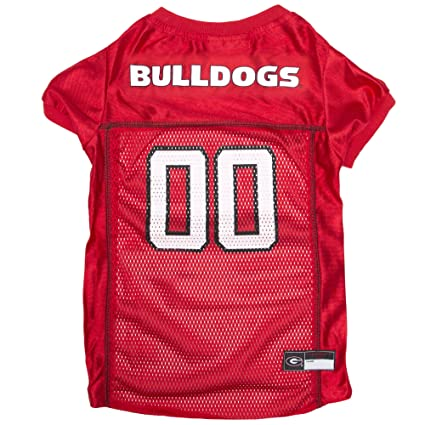 1da6040fd Amazon.com: NCAA GEORGIA BULLDOGS DOG Jersey, Large: Pet Supplies