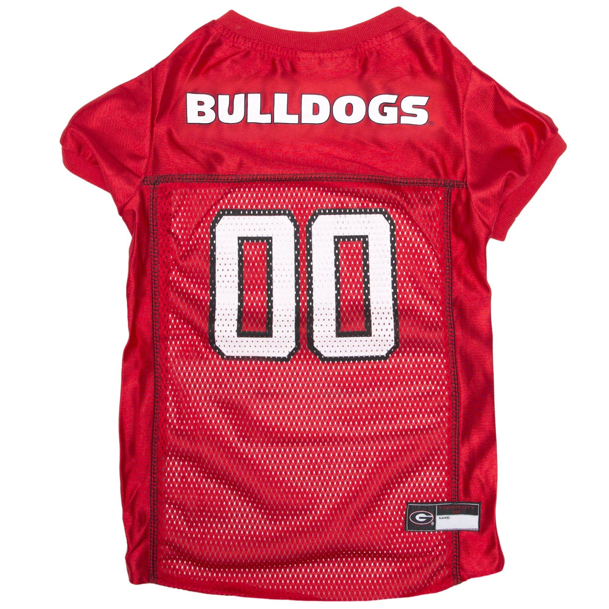 Pets First NCAA GEORGIA BULLDOGS DOG Jersey, XX-Large