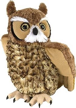 Bullyland Grey Owl solide Jouet en plastique Wild Zoo Oiseau Animal NOUVEAU *
