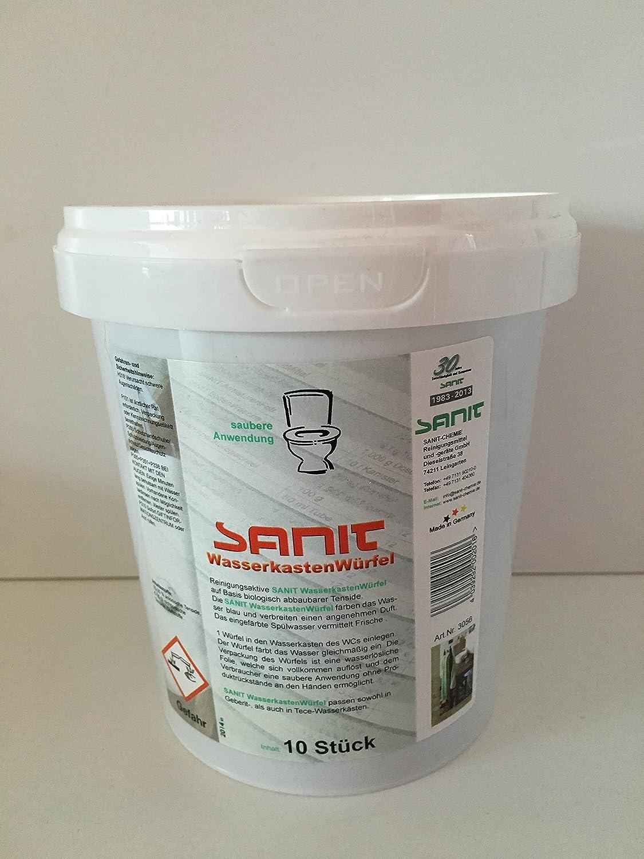 Sanit-Diana Sparset 20 Stk Wasserkastenwürfel Reinigungswürfel Tabs 3056