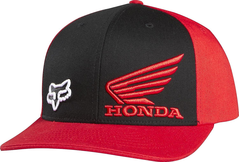 premium selection 024cf 4da60 ... sale amazon fox racing mens honda standard flexfit hat sports outdoors  f5789 2cae6