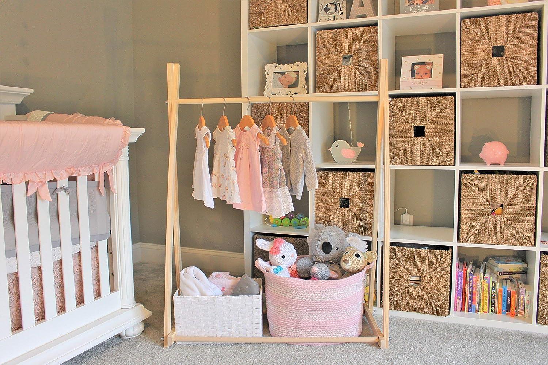 Clothing Rack, Dress Up Storage, Childrens Decor, Kids Clothing, Garment Rack, Closet Organization, FOLDS UP, 48x34 inch Tall Clothing Rack