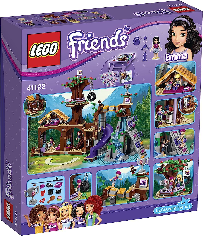 LEGO Friends - Campamento de Aventura: casa en el árbol (41122)