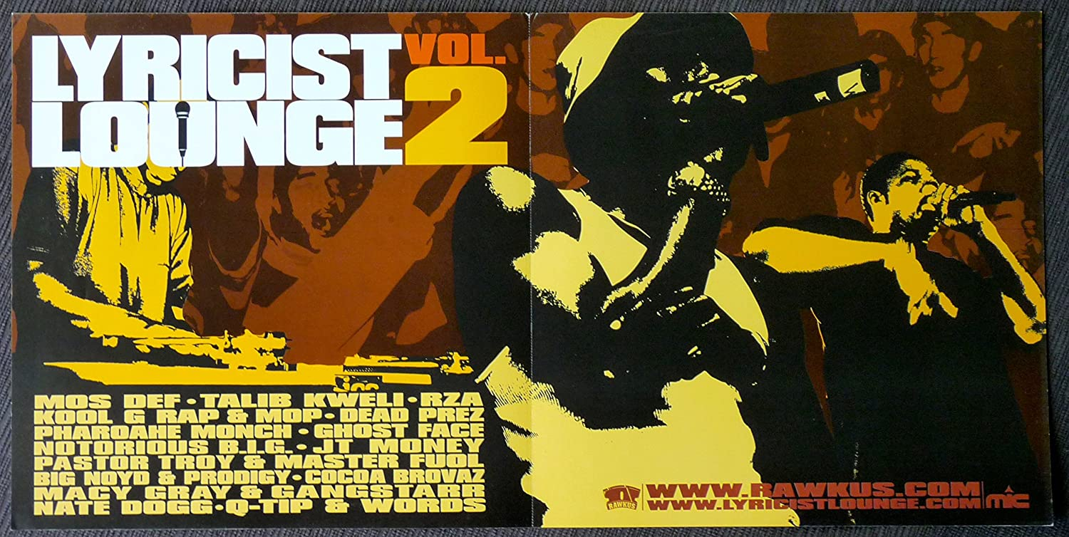 Amazon.com: rawkus Presents – lyricist Lounge 2 – Rare 2 ...
