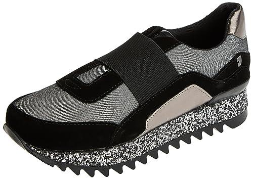 Gioseppo 41072, Zapatillas para Mujer, Plateado (Plata), 41 EU: Amazon.es: Zapatos y complementos