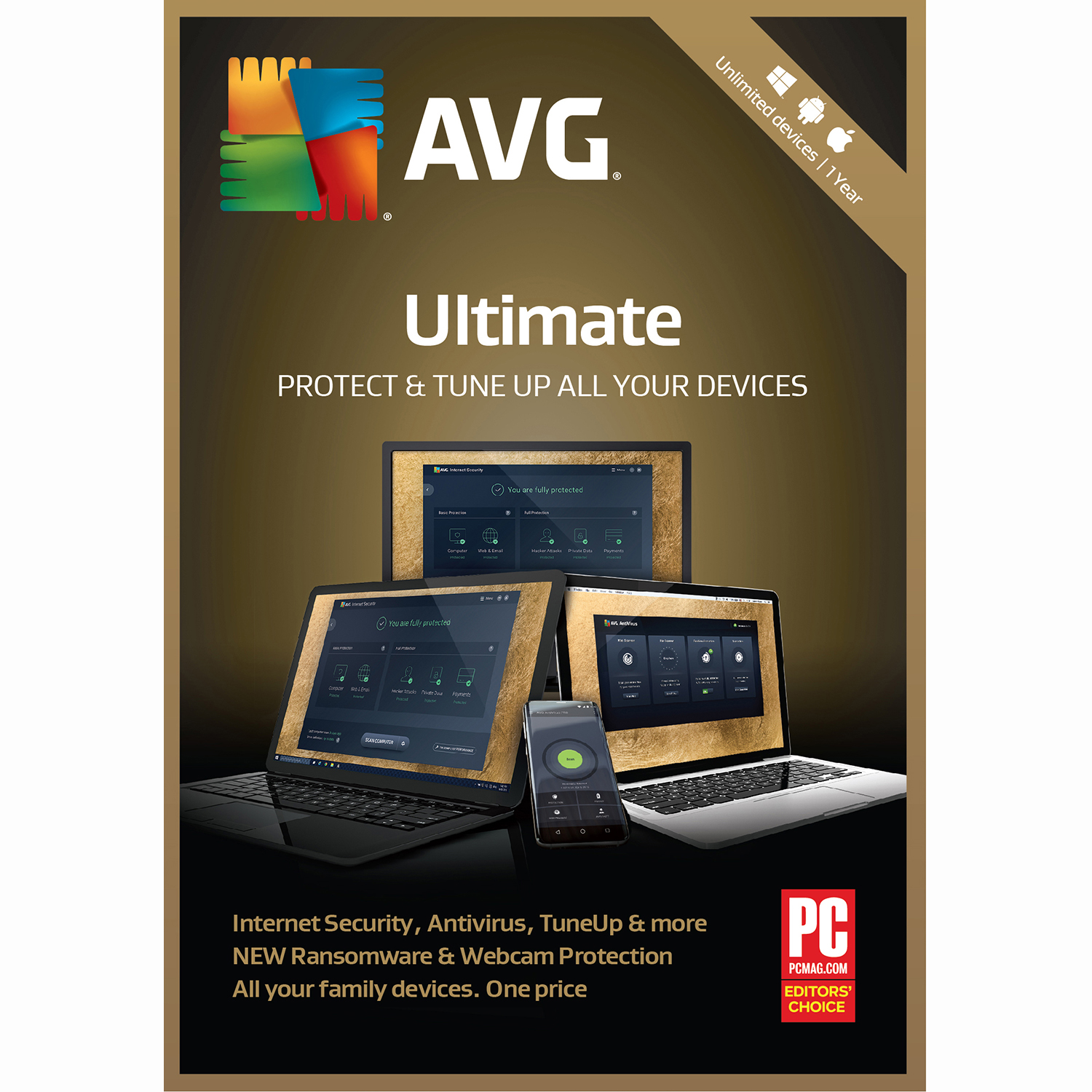 AVG Ultimate Unlimited 1 Year (Mac Cleaner Software)