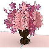 Lovepop Floral Bouquet Blue Pop Up Card, Anniversary Pop Up Card, Birthday Card Flowers, 3D Cards, Pop Up Birthday Card, Flowers Card, Bouquet Card