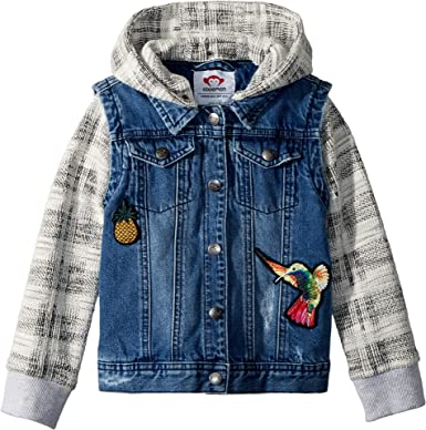 48c90e9c4719 Amazon.com  Appaman Kids Womens Convertible Jean Jacket (Toddler ...