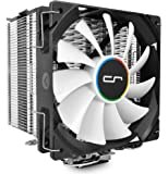 CRYORIG H7 Procesador - Ventilador de PC (Procesador, Enfriador, Socket AM2, Socket AM3, Socket AM3, Socket AM3+, Socket FM1, Socket FM2, Socket FM2+, Socket H (LGA , 120 x 120 x 25,4 mm, Negro, Plata, Color blanco)