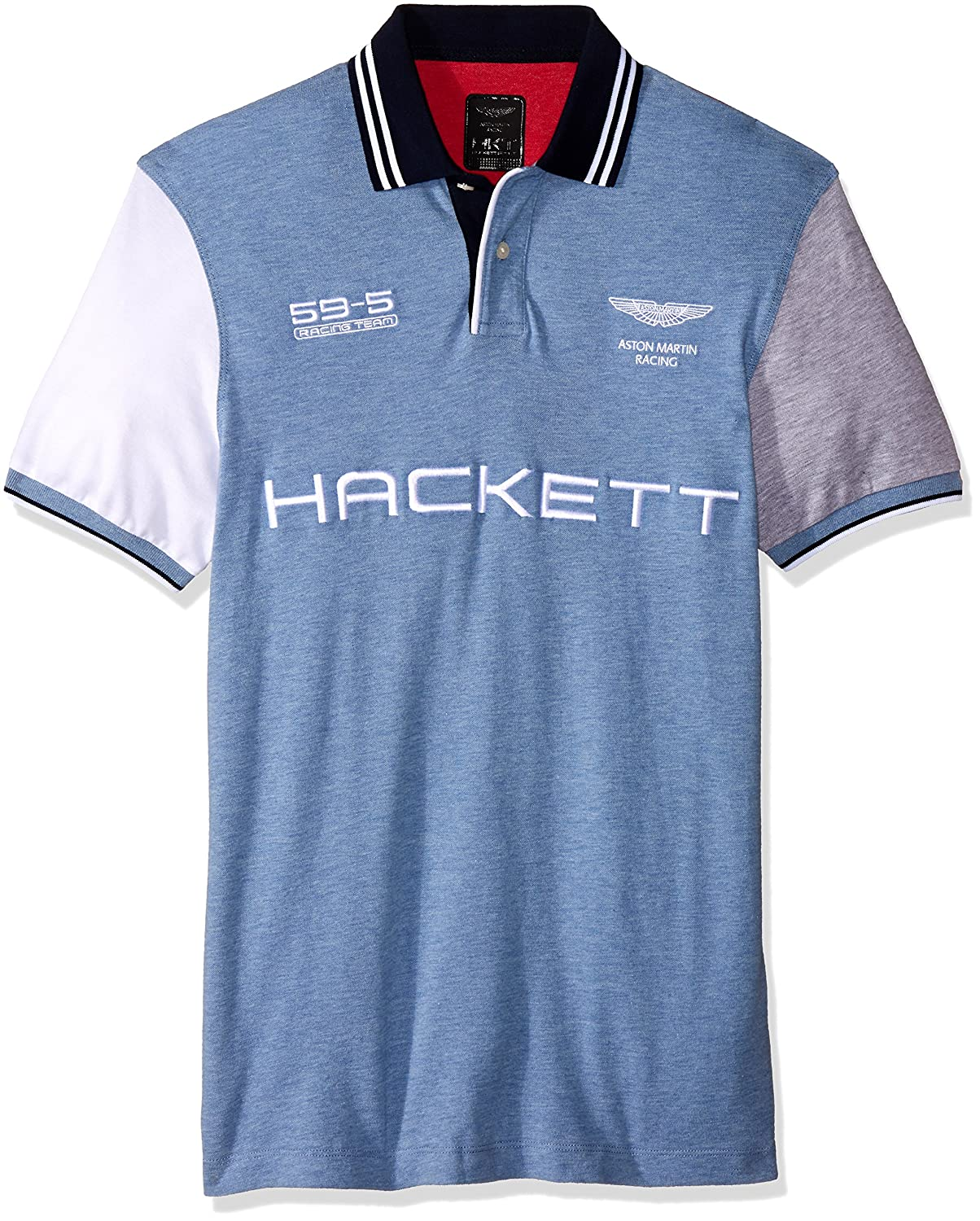 Polo Hackett Aston Martin Racing HM561536 Azul - Color - AZUL ...