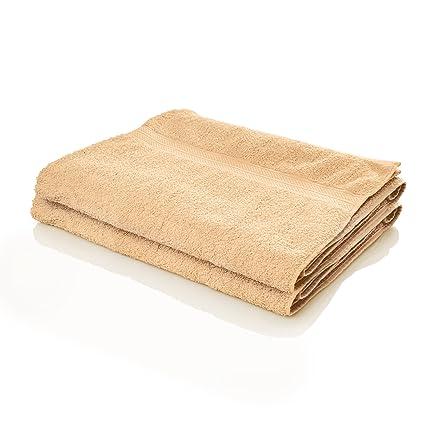 Lumaland Premium Set 2 Toallas 100 x 150 cm-100% Algodón 500 g/