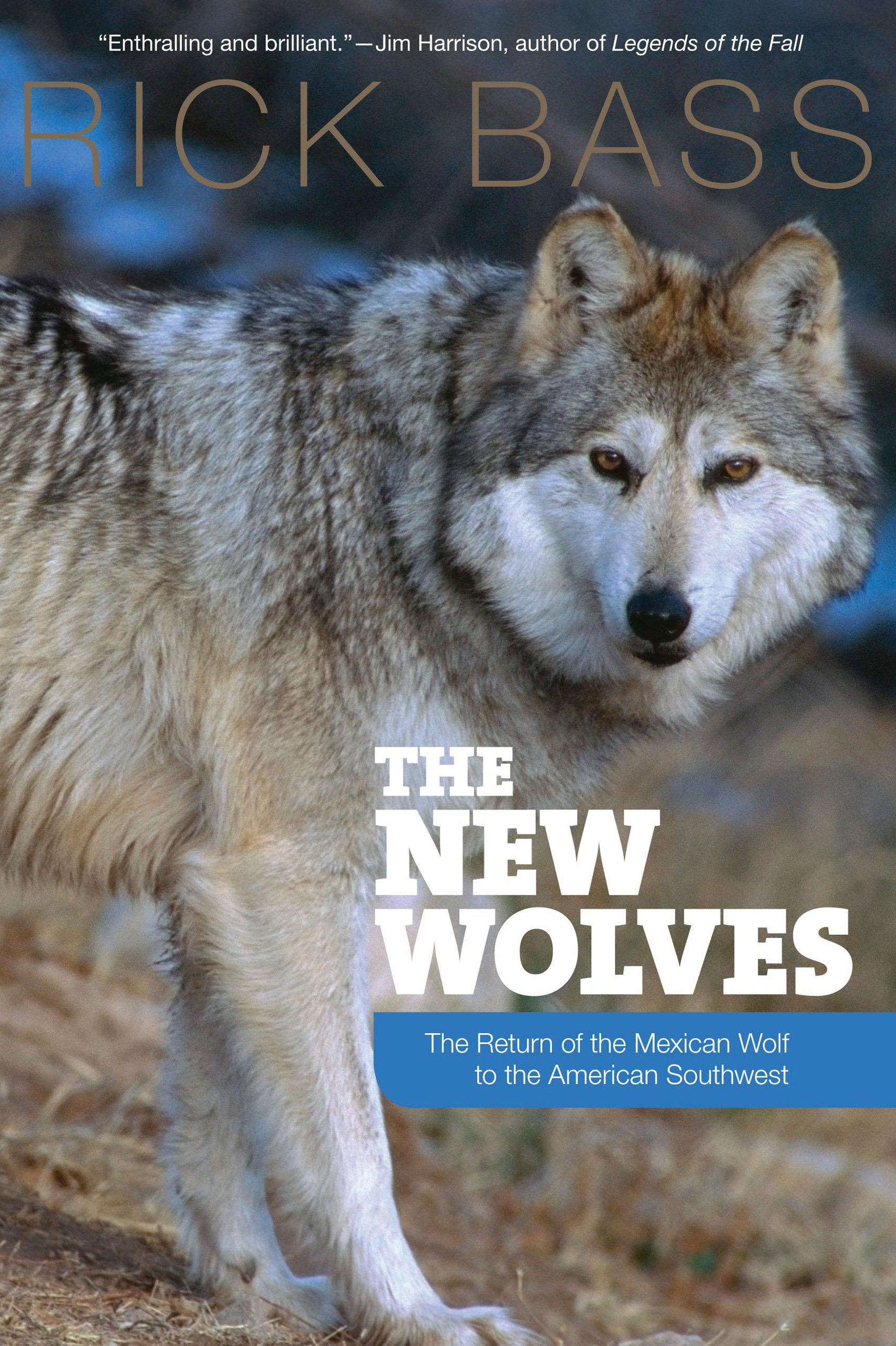 The New Wolves: The Return Of The Mexican Wolf To The American Southwest:  Rick Bass: 9781599212289: Amazon: Books