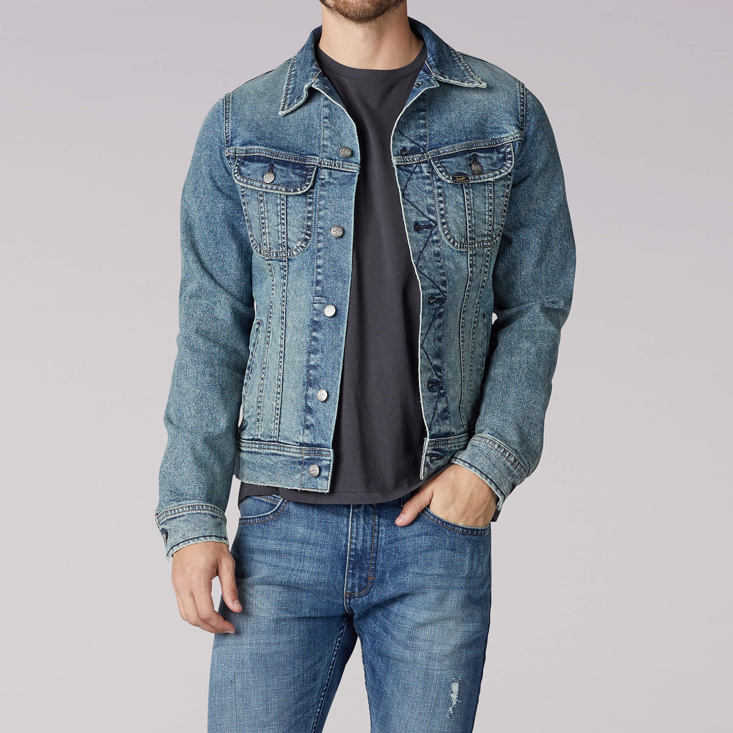 LEE Men's Denim Jacket, Old School, XX-Large by LEE
