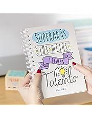 La mente es maravillosa -Cuaderno A5 -Regalo para amiga con dibujos -TALENTO-ESP