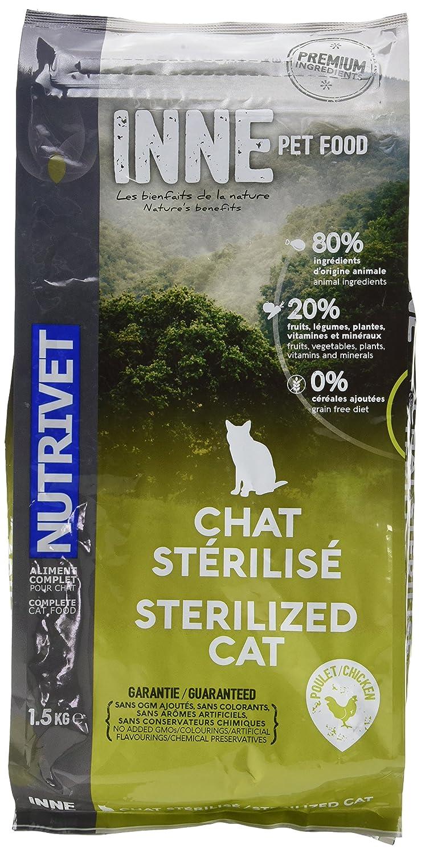Nutrivet Inne Sterilise pour Chat Sac de 6 Kg 5098