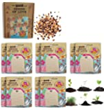 Seeds of Love: Blank Greeting Cards with Organic Non-GMO Flower Seeds (10 pack)