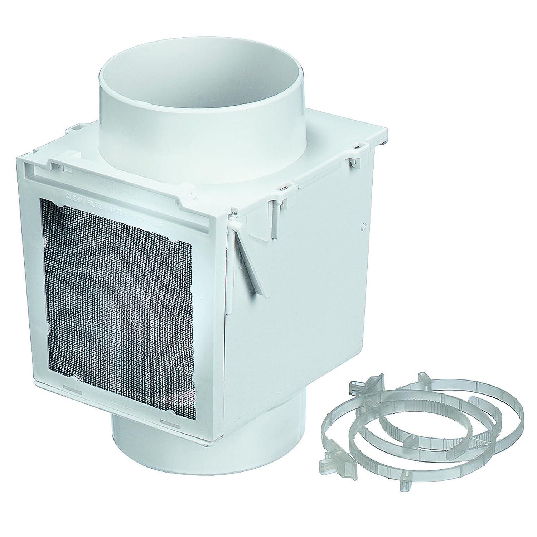"Amazon Deflecto Extra Heat Dryer Saver 4"" White EX12 Home"