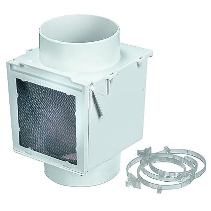 Amazoncom Deflecto Extra Heat Dryer Saver 4 White Ex12 Home