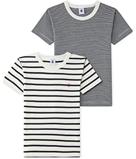 1431b1bcffec1 RED WAGON T-Shirt Marine Garçon, Lot de 3  Amazon.fr  Vêtements et ...