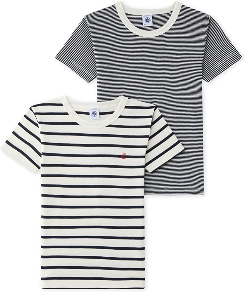 Petit Bateau T Shirt MC Camiseta, Multicolor (Special Lot 00 00 ...
