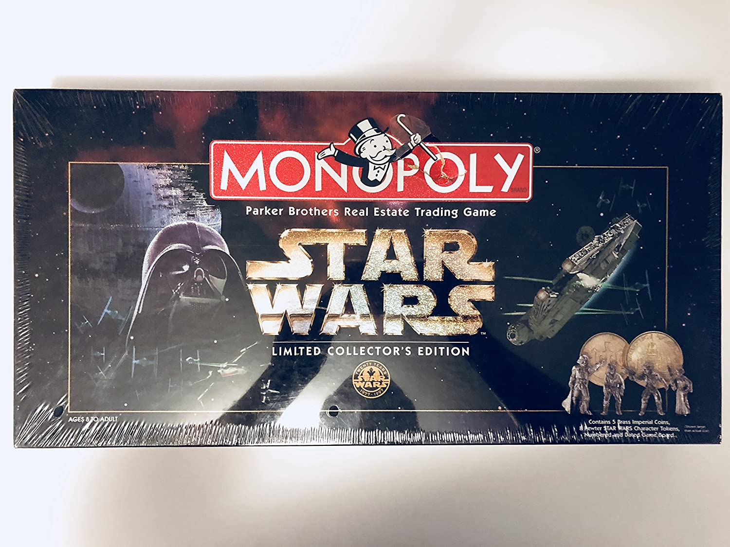 B000LQEL26 Monopoly 1997 Star Wars Monopoly Limited CollectorS 20Th Anniversary Edition 91CdeRip0cL.SL1500_