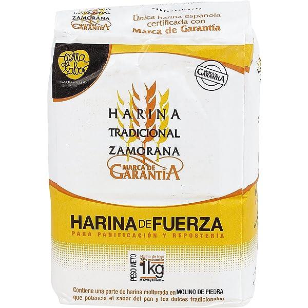 TIERRA DE SABOR harina de fuerza zamorana paquete 1 Kg: Amazon.es ...
