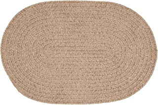 product image for Colonial Mills Barefoot Chenilled Bath Rug, 22 x 34, Sand