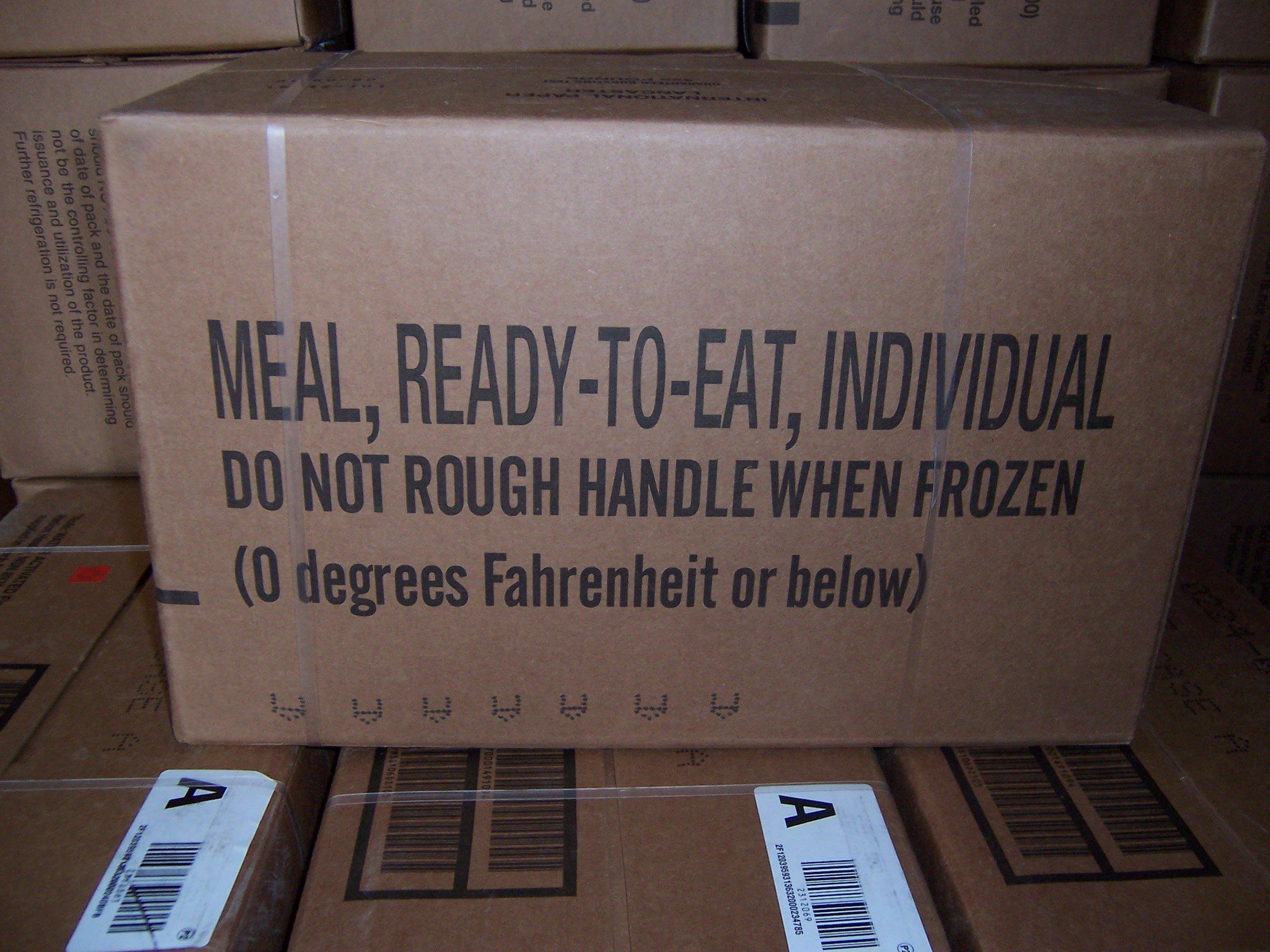 menu combat ration mre life info shelf italian international rations