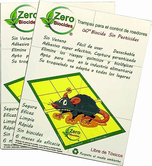 Zero Biocides Lote 2 Trampas para Ratas tamaño Grandes y atrayente incorporando Fabricadas en España: Amazon.es: Jardín