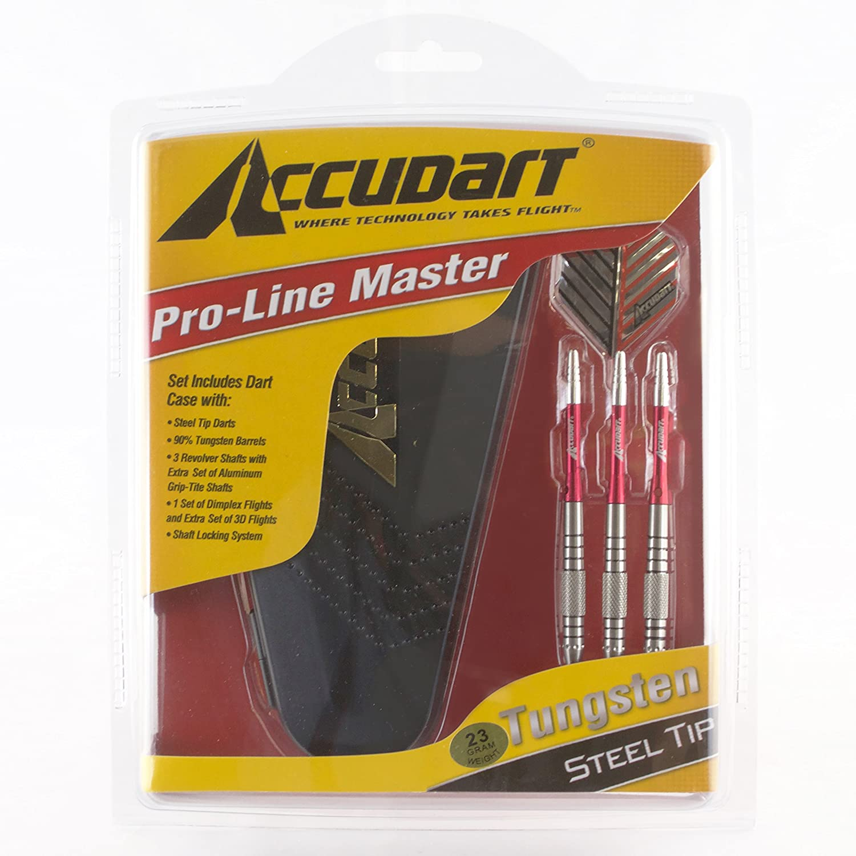 Accudart D1322 90 Percent Tungsten Dart Set Steel Darts Amazon Canada
