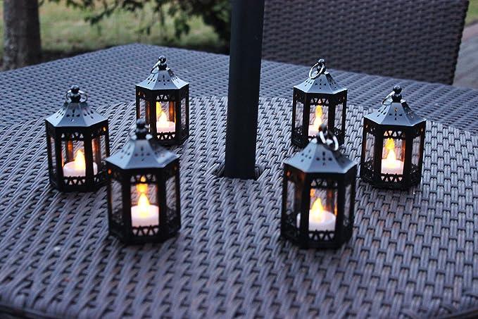 Amazon.com: Minilinternas LED para velas de té.: Home & Kitchen