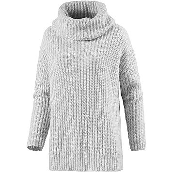 designer fashion a9859 12442 LTB Damen Rollkragenpullover grau L: Amazon.de: Sport & Freizeit