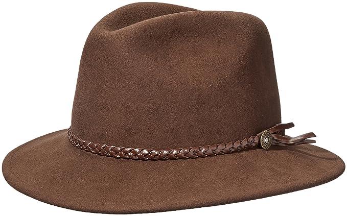 362070d974 Pantropic Mens Fedora Lite Felt Hat Fedora: Amazon.ca: Clothing ...